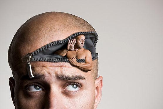 What's Up Dude?, Bizarre Photo Manipulation of Self Portrait