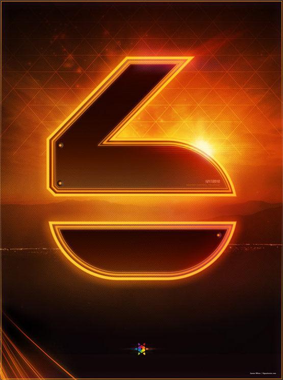 Tron Legacy Countdown Posters