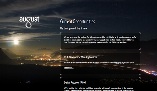 30 Cool Website Designs with Landscape Backgrounds
