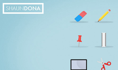 Shaun Dona - Minimal Website