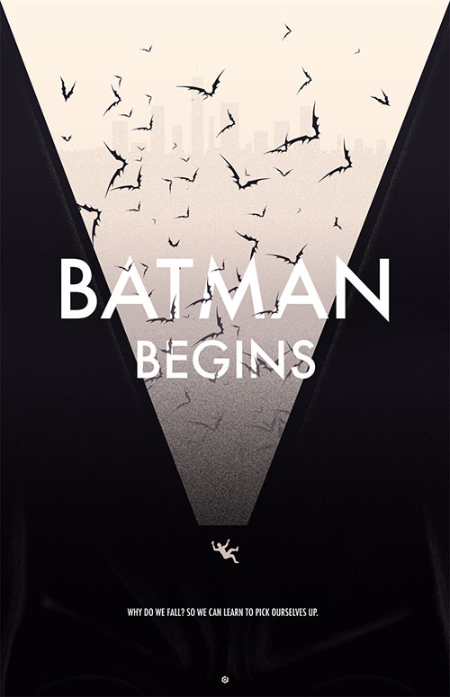 Batman Begins Alternative Poster