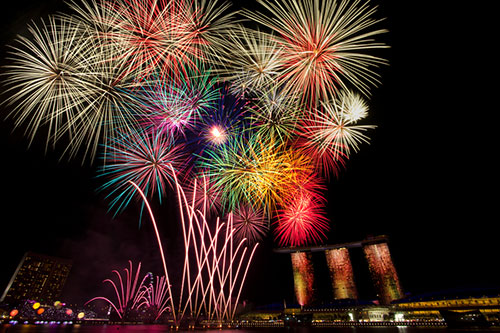Bouquet of Fireworks