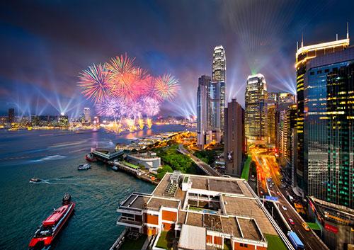 Hongkong Timelapse Photograph