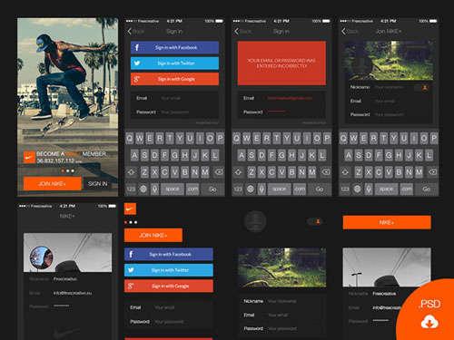 Login UI kit for iOS