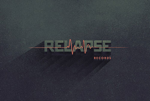 Record Label - Typography Design Inspiration