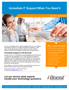 Outsourced Help Desk Infographic