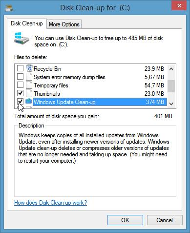 How To Free Up Disk Space Using Disk Cleanup