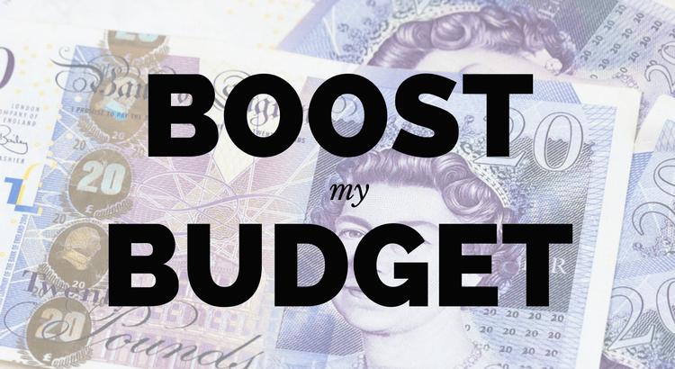 Boost My Budget logo