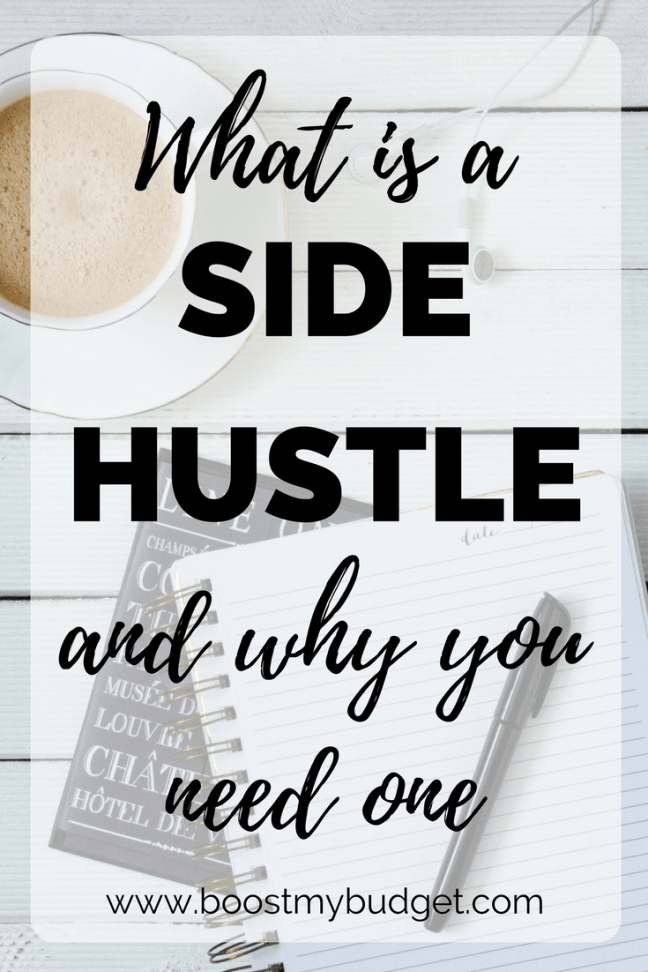 What's this whole side hustle thing all about anyway? What is a side hustle, and why do you need one? Here are the reasons why I have side hustles, plus a list of the things I do to make extra money from home part time.