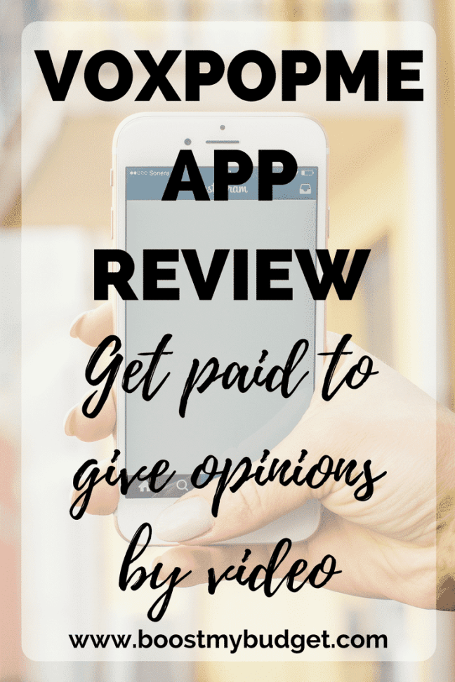 VoxPopMe review: a new app that PAYS you to record short video opinions on different brands. Can you make easy money from home with VoxPopMe? Find out here!