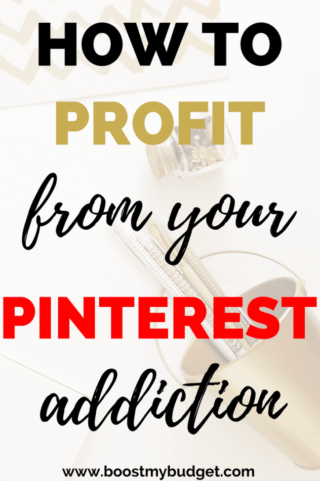 Here's how to make money on Pinterest with affiliate marketing! Yes, you can turn your Pinterest addiction into profit and get paid to pin. Get your exact money making game plan on the blog!