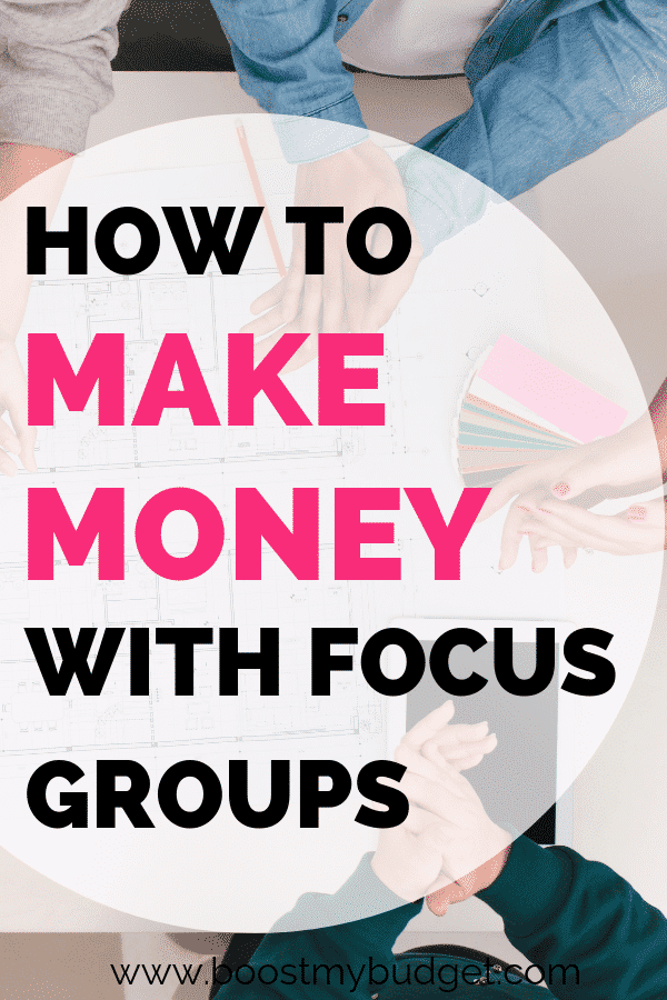 Here's an interesting side hustle idea... take part in focus groups! Get paid to give your opinion. It pays a LOT more than online surveys! Click through to find out how to get involved.