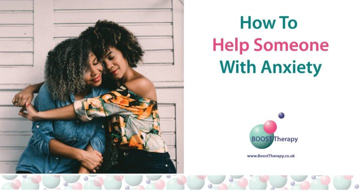 How To Help someone with anxiety, image of friends
