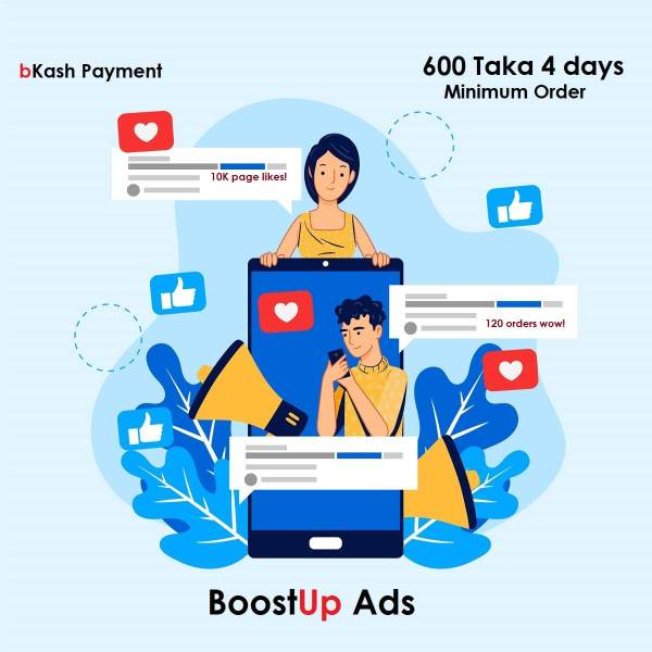 Facebook Advertising in Bangladesh by BoostUp Ads