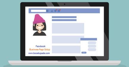 facebook page setup boostup