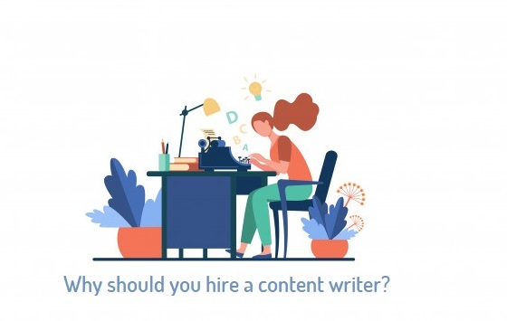 Why should you hire a website content writer
