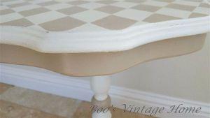 side table - harlequin design