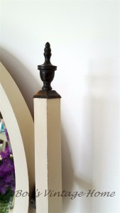 vintage chest of drawers finial