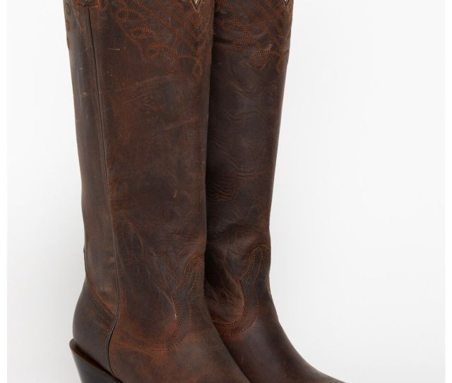 Shyanne Womens  Snip Toe Western Fashion Boots Brown Hi Res