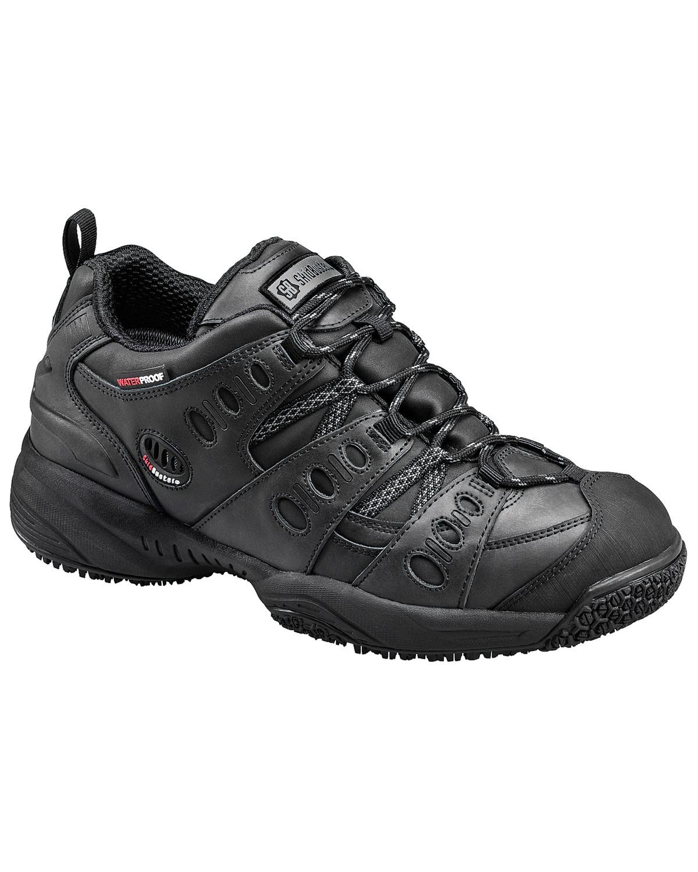 Cheap Black Slip Resistant Shoes