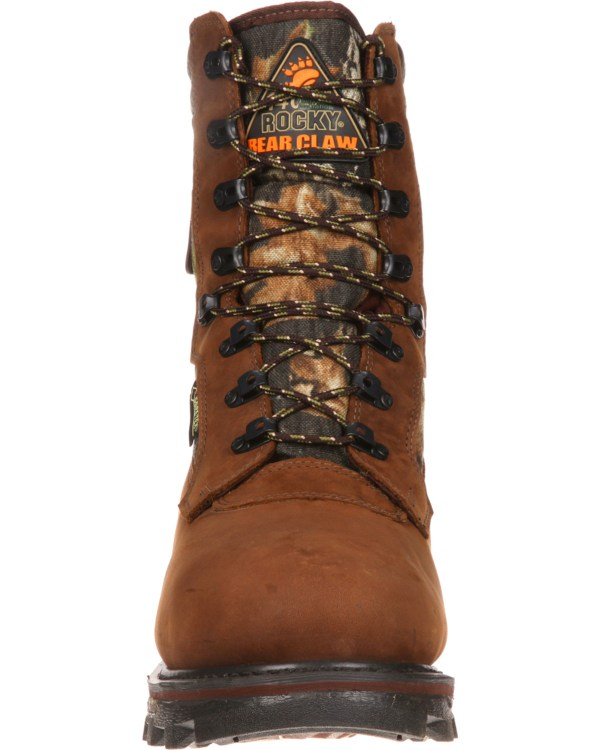 """Rocky Men' Arctic Bear Claw 3d 10"""" Hiking & Hunting Boots"""