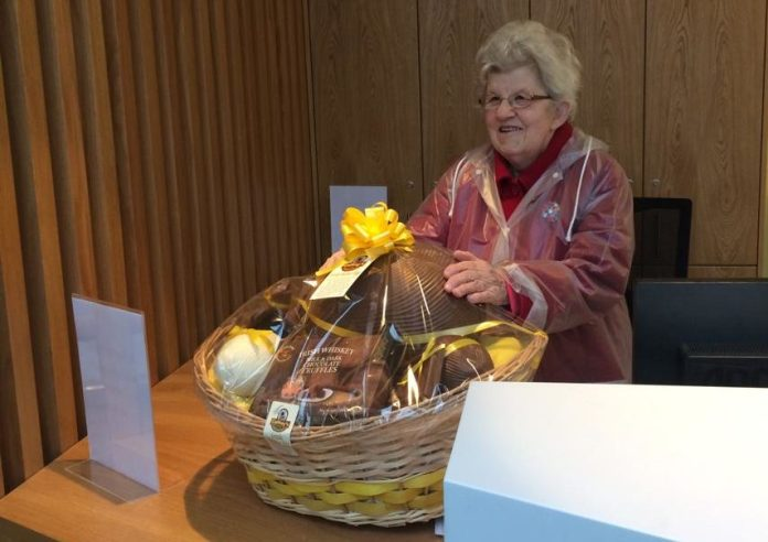 Easter Basket Winner Announced