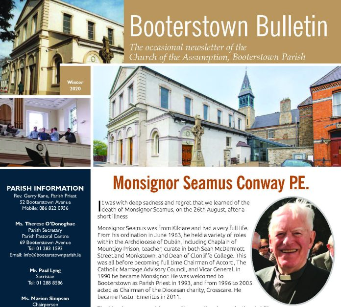 Booterstown Bulletin Dec 2020