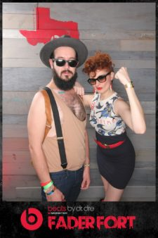 SXSW Beats Fader Fort Photo Booth