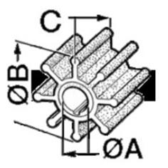 Impeller Innenborder für Volvo Penta,