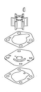 Wasserpumpen Reparatur-Satz für Suzuki DF 8A / DF 9.9A