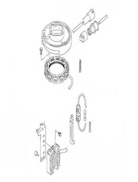 KIT: Gleichrichter und Laderegler für Suzuki DF4 / DF5
