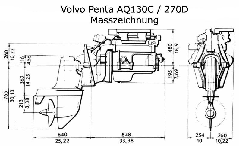 Volvo Penta Aq130 Engine, Volvo, Free Engine Image For