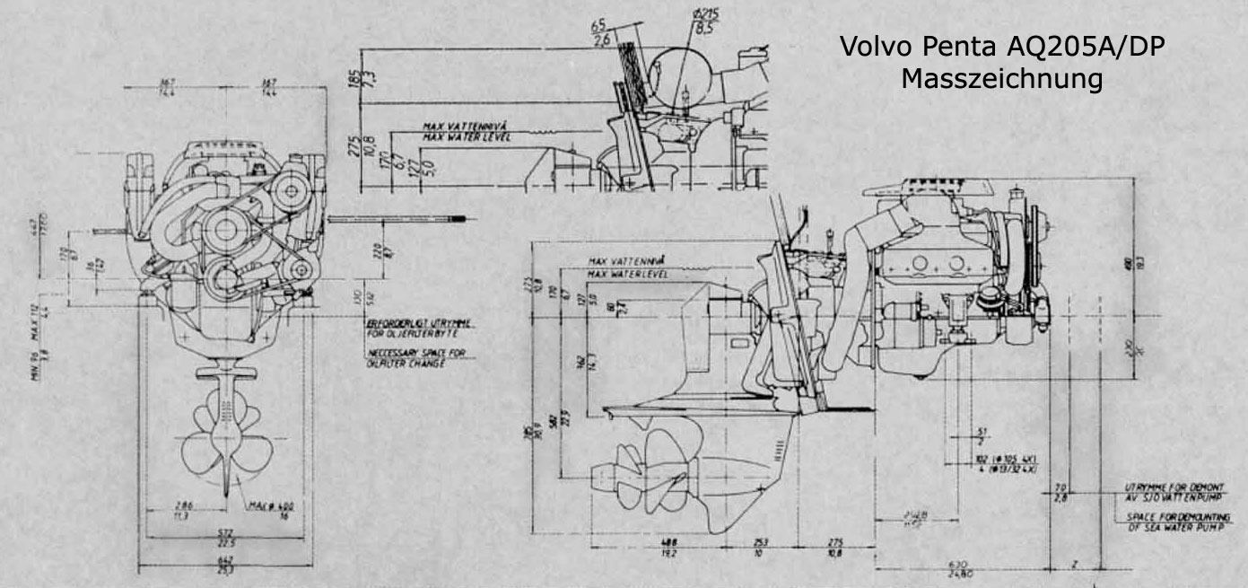 Aq205A Volvo Penta