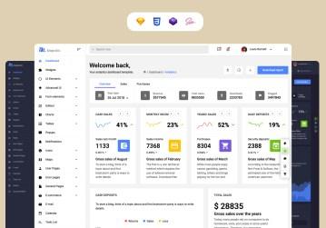 admin template majestic admin dashboard