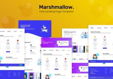 marshmallow-landing-page