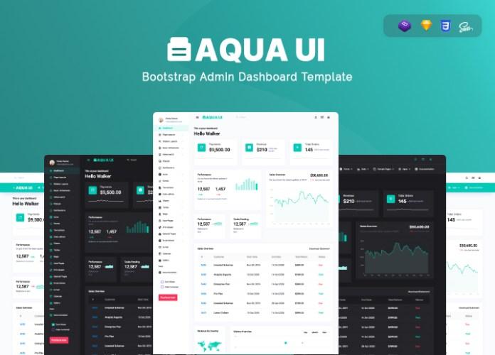 admin template aqua ui admin dashboard