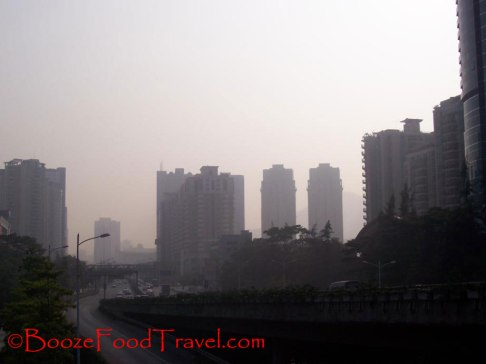 I saw too many days with pollution like this