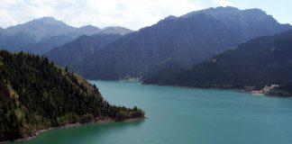 heavenly lake xinjiang