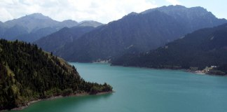 heavenly lake xinjiang