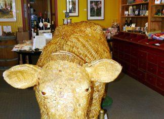 wine cow