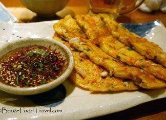 tokyo seafood pancake