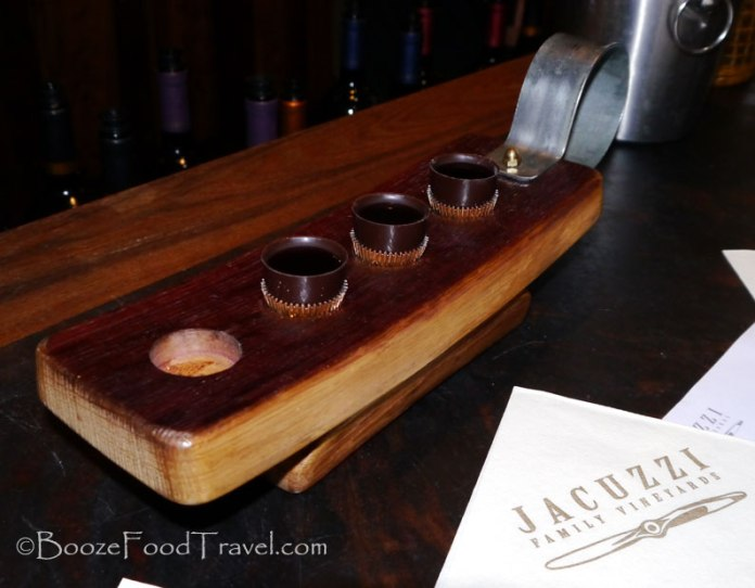chocolate wine shot sonoma