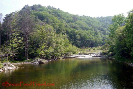 woljeongsa river