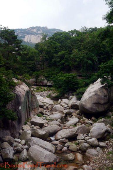 bukhansan stream