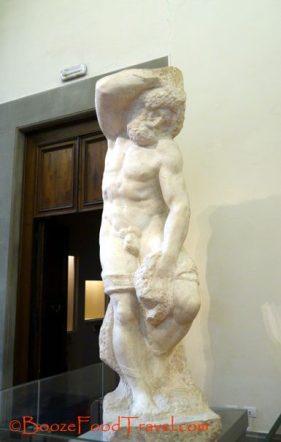 Michelangelo bearded prisoner