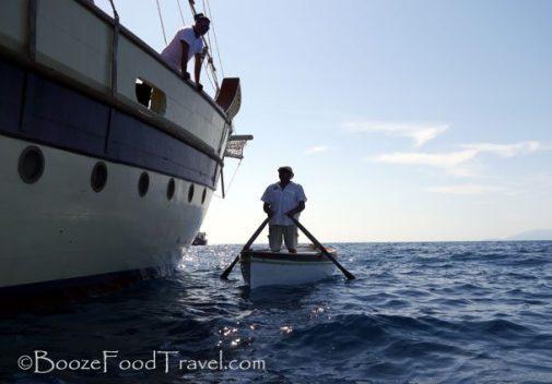 blue grotto boat