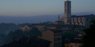 perugia sunrise
