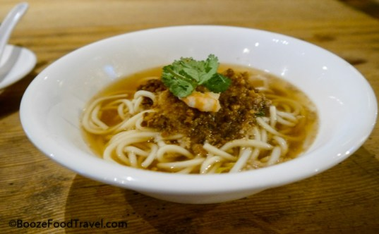 Danzai noodles are pretty good, but particularly nothing special