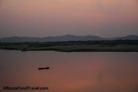 irrawaddy sunset boat