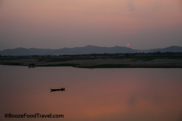 irrawaddy sunset